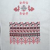 """Русский стиль handmade. Livemaster - original item Рушник """"Русский орнамент"""". Handmade."""