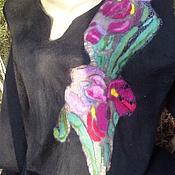 Одежда ручной работы. Ярмарка Мастеров - ручная работа Платье Ирисы.. Handmade.