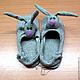 Обувь ручной работы. Ярмарка Мастеров - ручная работа. Купить Домашние женские тапочки зайчики. Handmade. Тапочки для дома