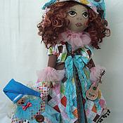 Куклы и игрушки ручной работы. Ярмарка Мастеров - ручная работа КОЛОМБИНА - Авторская текстильная кукла. Handmade.