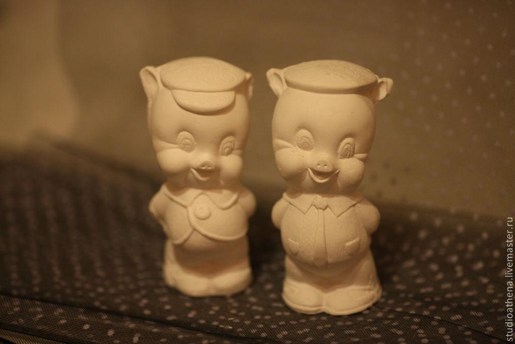 Два веселых друга поросята, Игрушки, Москва, Фото №1