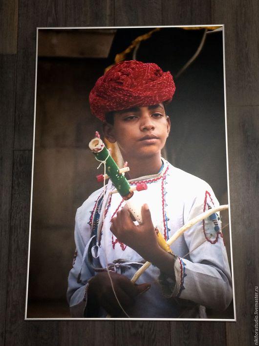 """Фото-работы ручной работы. Ярмарка Мастеров - ручная работа. Купить Фотография """"Маленький мечтатель"""". Handmade. Комбинированный, фотография, индия"""