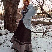 Одежда ручной работы. Ярмарка Мастеров - ручная работа Юбка из шерсти в стиле Бохо. Handmade.
