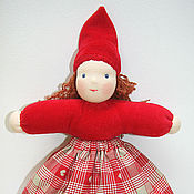 """Куклы и игрушки ручной работы. Ярмарка Мастеров - ручная работа Кукла """"Новогодний гномик"""". Handmade."""