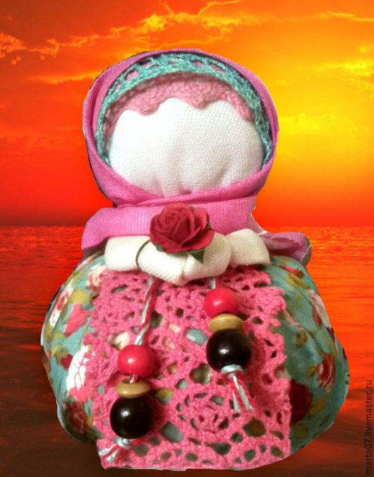 """Народные куклы ручной работы. Ярмарка Мастеров - ручная работа. Купить Кукла-оберег Благополучница""""Вечерняя заря"""". Handmade. Комбинированный, лен"""