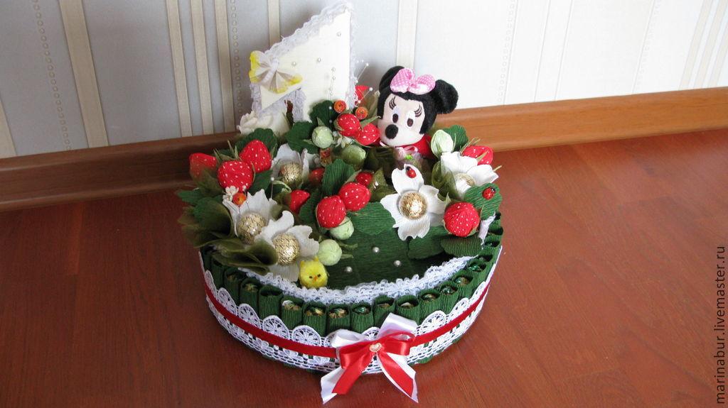 """Торт """" Клубничная поляна"""", Букеты, Москва,  Фото №1"""