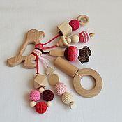 Куклы и игрушки handmade. Livemaster - original item Teething toy. The teether. № 4. Handmade.