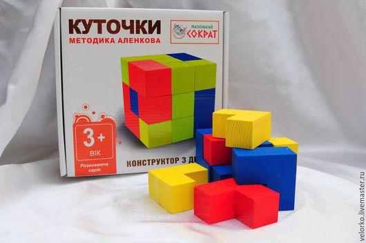 """Развивающие игрушки ручной работы. Ярмарка Мастеров - ручная работа. Купить Деревянная развивающая игрушка """"Уголки"""" методика Никитиных. Handmade."""