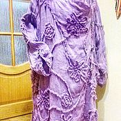 """Одежда ручной работы. Ярмарка Мастеров - ручная работа Плащ изо льна """" Ассиметрия"""". Handmade."""