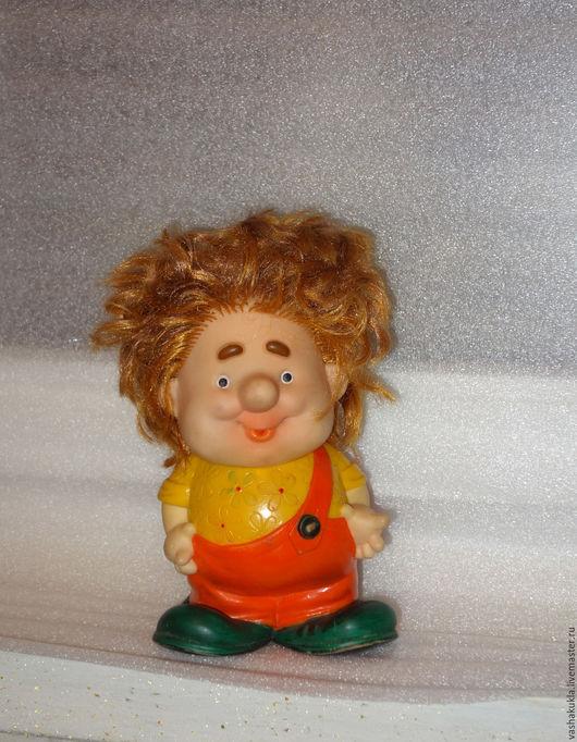 Винтажные куклы и игрушки. Ярмарка Мастеров - ручная работа. Купить Карлсон большой. Советская резиновая игрушка.. Handmade. Ретро, резиновая игрушка