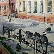 """Картины ручной работы. Ярмарка Мастеров - ручная работа """"Шуйский Арбат"""". Handmade."""