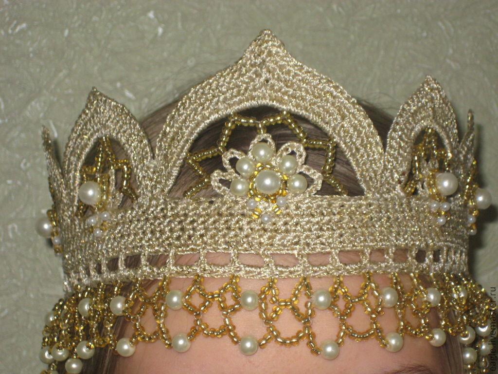 Кокошник или корона своими руками 82