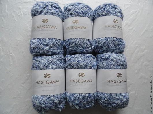 Вязание ручной работы. Ярмарка Мастеров - ручная работа. Купить Пряжа Hasegawa New Momo № М 22. Handmade.