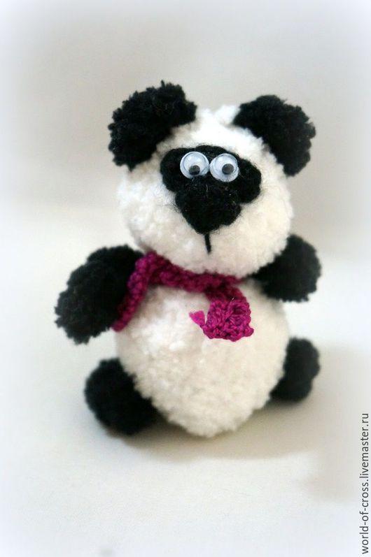 Игрушки животные, ручной работы. Ярмарка Мастеров - ручная работа. Купить Малыш Панда. Handmade. Чёрно-белый, панда кунгфу