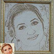 Подарки к праздникам ручной работы. Ярмарка Мастеров - ручная работа Схемы для вышивки портретов и икон бисером. Handmade.