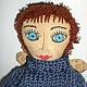Ароматизированные куклы ручной работы. Ярмарка Мастеров - ручная работа. Купить Кофейный Фей. Handmade. Бежевый, любителю кофе