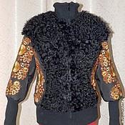 Одежда ручной работы. Ярмарка Мастеров - ручная работа Вышивка на изделиях одежды. Handmade.