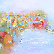 Картины и панно handmade. Livemaster - original item The Village Of Del Mar. Handmade.