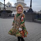 Работы для детей, ручной работы. Ярмарка Мастеров - ручная работа Детское пальто  Александра. Handmade.