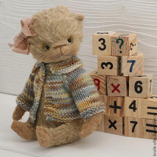 Мишки Тедди ручной работы. Ярмарка Мастеров - ручная работа. Купить Мишка Тедди Малышка Лили. Handmade. Мишка