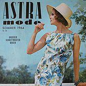Винтажные книги ручной работы. Ярмарка Мастеров - ручная работа Astra mode- старый немецкий журнал мод -лето 1964. Handmade.