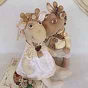 Свадебный салон ручной работы. Ярмарка Мастеров - ручная работа Жирафы Шепотом о Любви.... Handmade.