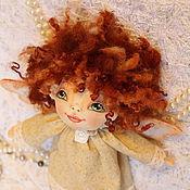 Куклы и игрушки ручной работы. Ярмарка Мастеров - ручная работа Текстильная кукла ангел Веселинка.. Handmade.