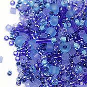 Бисер ручной работы. Ярмарка Мастеров - ручная работа Бисер Микс TOHO №3230 сиренево-голубой Японский бисер TOHO Beads 10гр. Handmade.