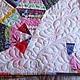 """Текстиль, ковры ручной работы. Лоскутное покрывало """"Каждый день - Праздник"""" -продано. Артквилт  Наталии Турчаниновой. Интернет-магазин Ярмарка Мастеров."""