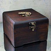 Для дома и интерьера ручной работы. Ярмарка Мастеров - ручная работа Деревянная коробка для часов. Handmade.