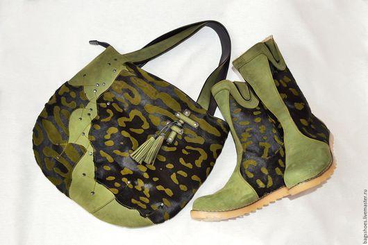 """Женские сумки ручной работы. Ярмарка Мастеров - ручная работа. Купить монголки  """" Унакит""""+сумка. Handmade. Тёмно-зелёный, кавалино"""