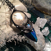 handmade. Livemaster - original item Aurora Pendant (p-012-08). Handmade.