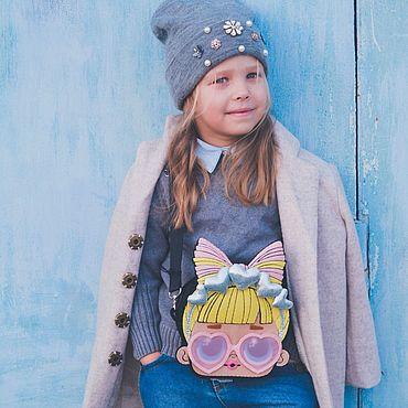 Сумки и аксессуары ручной работы. Ярмарка Мастеров - ручная работа Сумка для девочки. Handmade.