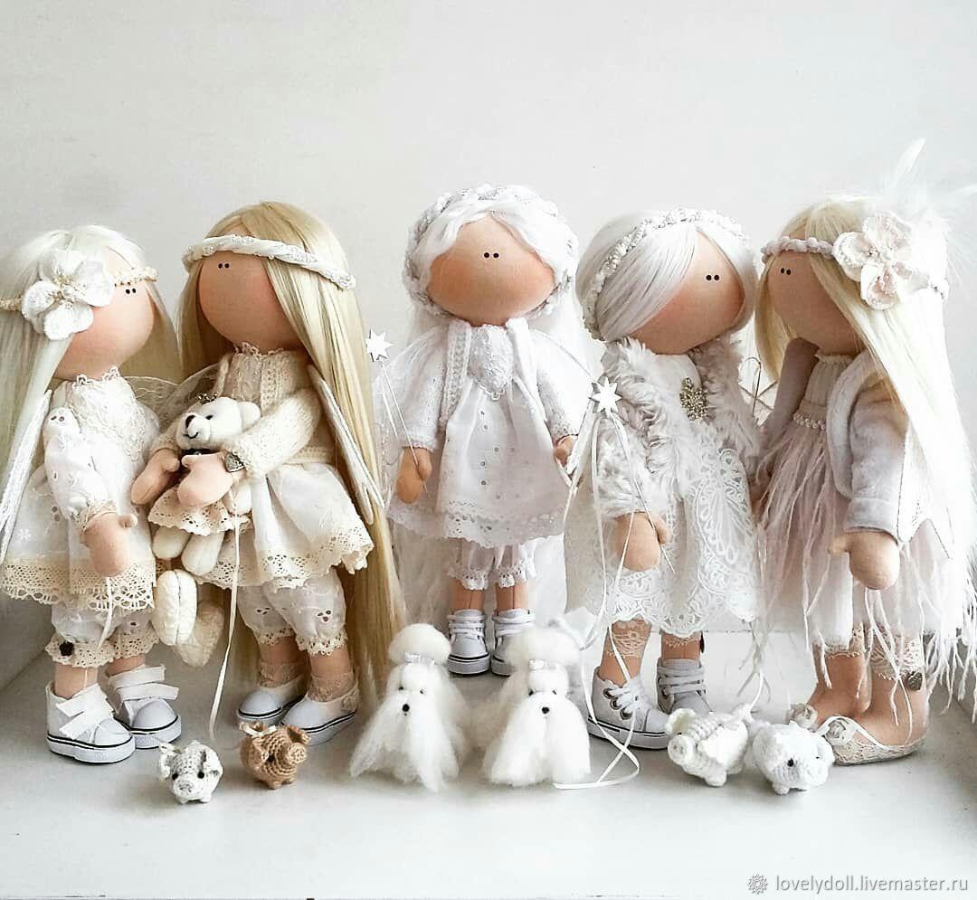 Ангелы. Текстильная кукла ручной работы, Куклы и пупсы, Киев,  Фото №1
