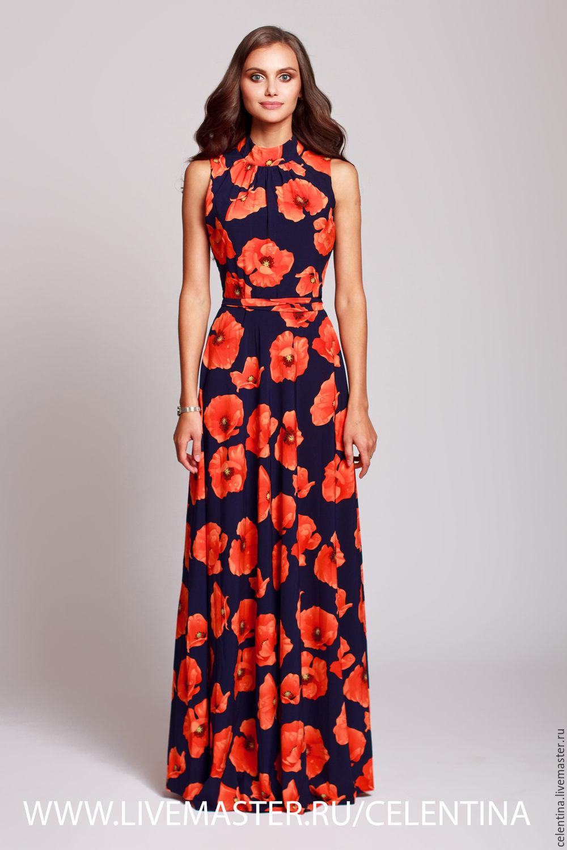 78fd81056759048 ... платье длинное летнее платье, платье без рукавов, летний сарафан, платье  в пол, платье