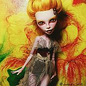 """Куклы и пупсы ручной работы. Ярмарка Мастеров - ручная работа ООАК """"Моя золотая"""". Handmade."""