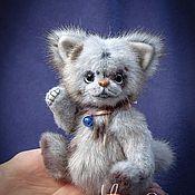 Куклы и игрушки handmade. Livemaster - original item Naughty Teddy Kotick Tom.. Handmade.