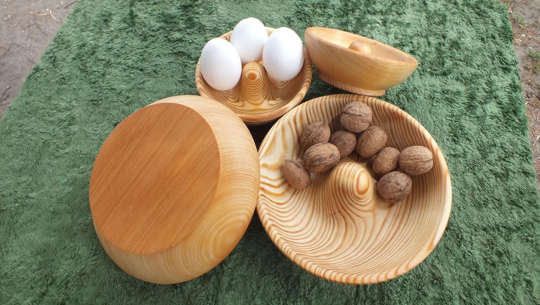 Тарелка из дерева