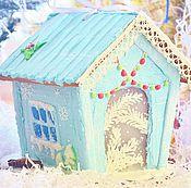 Сувениры и подарки handmade. Livemaster - original item Gingerbread house