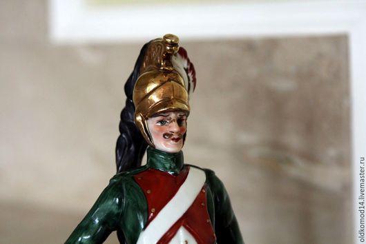 Винтажные куклы и игрушки. Ярмарка Мастеров - ручная работа. Купить Антикварные солдатики из фарфора. Handmade. Комбинированный, фарфор