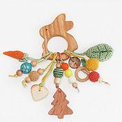 """Куклы и игрушки ручной работы. Ярмарка Мастеров - ручная работа """"Зайка моя..."""" - развивающая игрушка, грызунок. Handmade."""