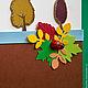 """Открытки к другим праздникам ручной работы. Открытка """"Очарование осени"""". Anna's boxes and greeting cards. Интернет-магазин Ярмарка Мастеров."""