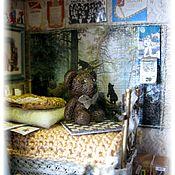 """Куклы и игрушки ручной работы. Ярмарка Мастеров - ручная работа Миниатюра в чайной коробочке """"Воспоминание"""". Handmade."""