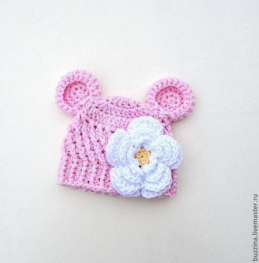Шапочка для фотосессии, шапочка для новорожденного, шапочка для девочки, шапочка Мишка, шапка для фотосессий, шапка для новорожденных, шапка Мишка, шапочка для девочки, мишка шапка, для новорожденной