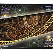 Нарды, шашки ручной работы. Ярмарка Мастеров - ручная работа Эксклюзивные нарды ABSTRACTION (серия S). Handmade.
