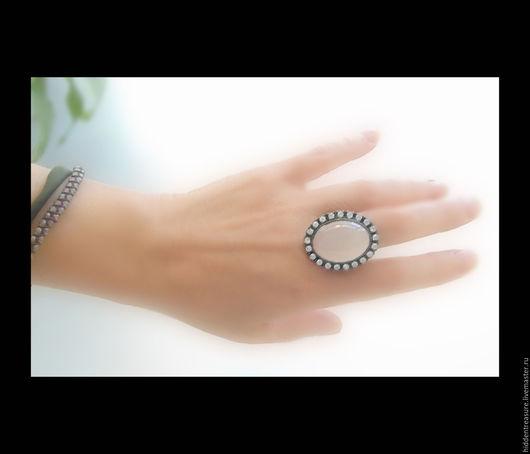 Винтажные украшения. Ярмарка Мастеров - ручная работа. Купить Винтажное кольцо 70-е годы.. Handmade. Розовый, винтажное кольцо