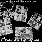 Косметика ручной работы handmade. Livemaster - original item Soap Black and white movie. Handmade.