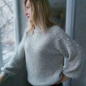 Одежда handmade. Livemaster - original item Sweater Alpaca. Handmade.