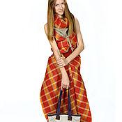 Одежда ручной работы. Ярмарка Мастеров - ручная работа Комплект шарф-туника и брюки. Handmade.
