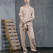 Одежда handmade. Livemaster - original item Knitted suit for women Nega. Handmade.